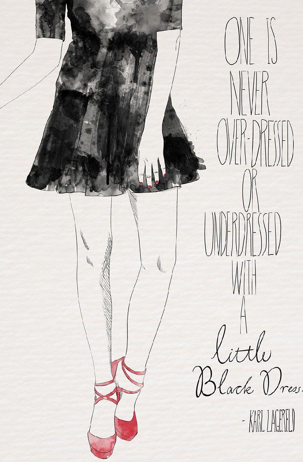 Little black dress canvas print quotes pinterest canvases
