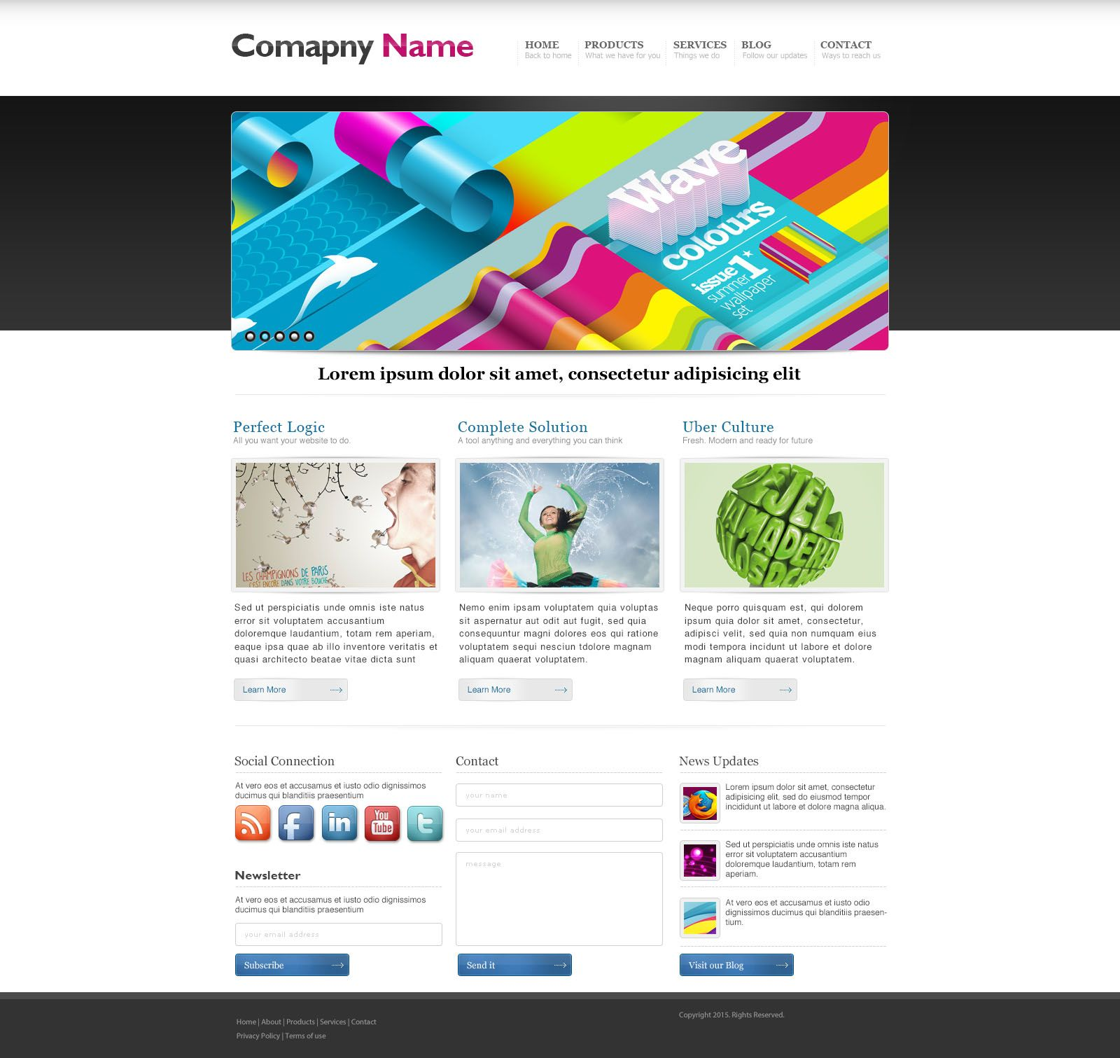 Print media website templates website design pinterest print media website templates pronofoot35fo Choice Image