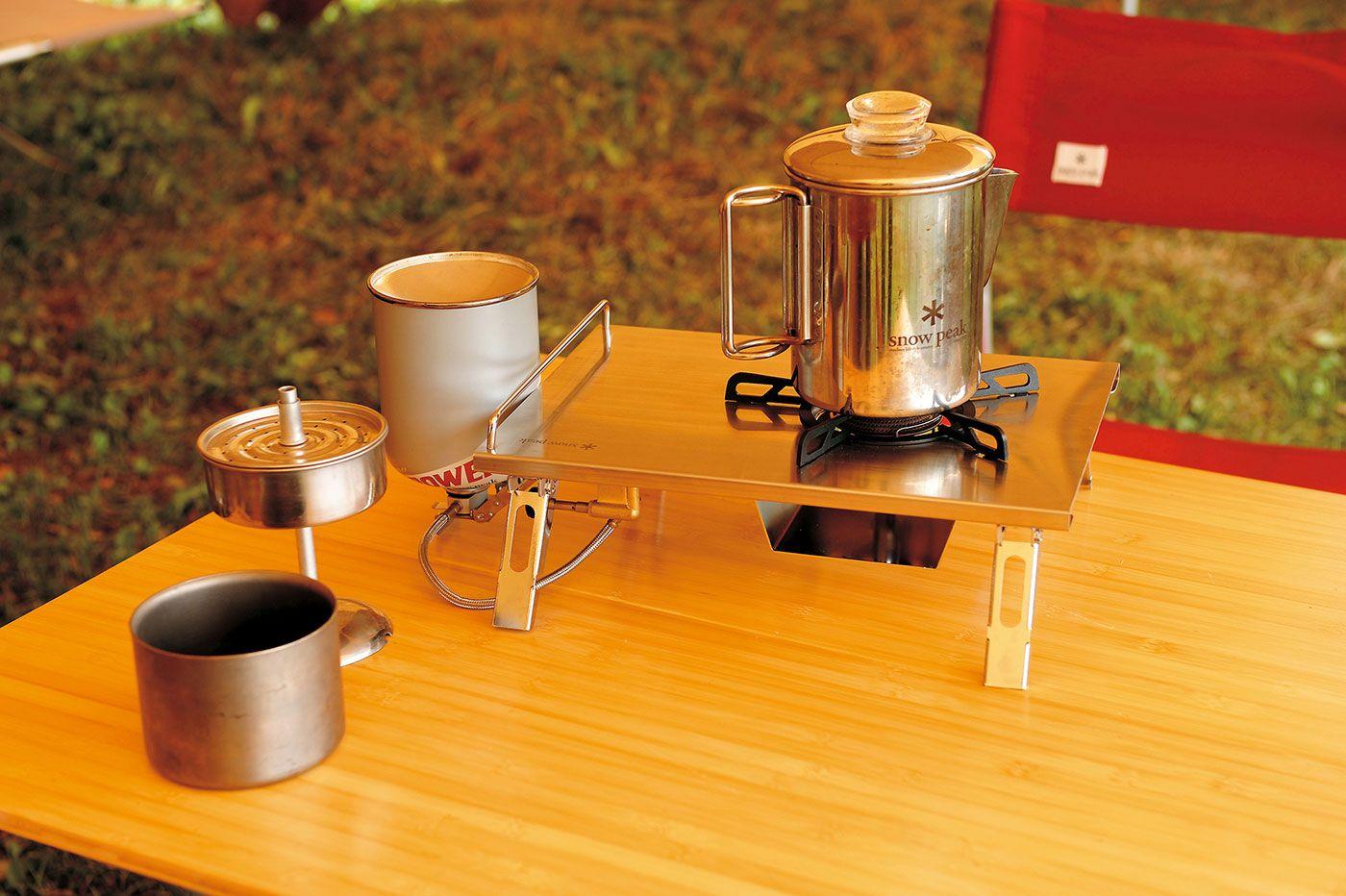 Stainless Coffee Percolator – Snow Peak...drrroooollllzzz