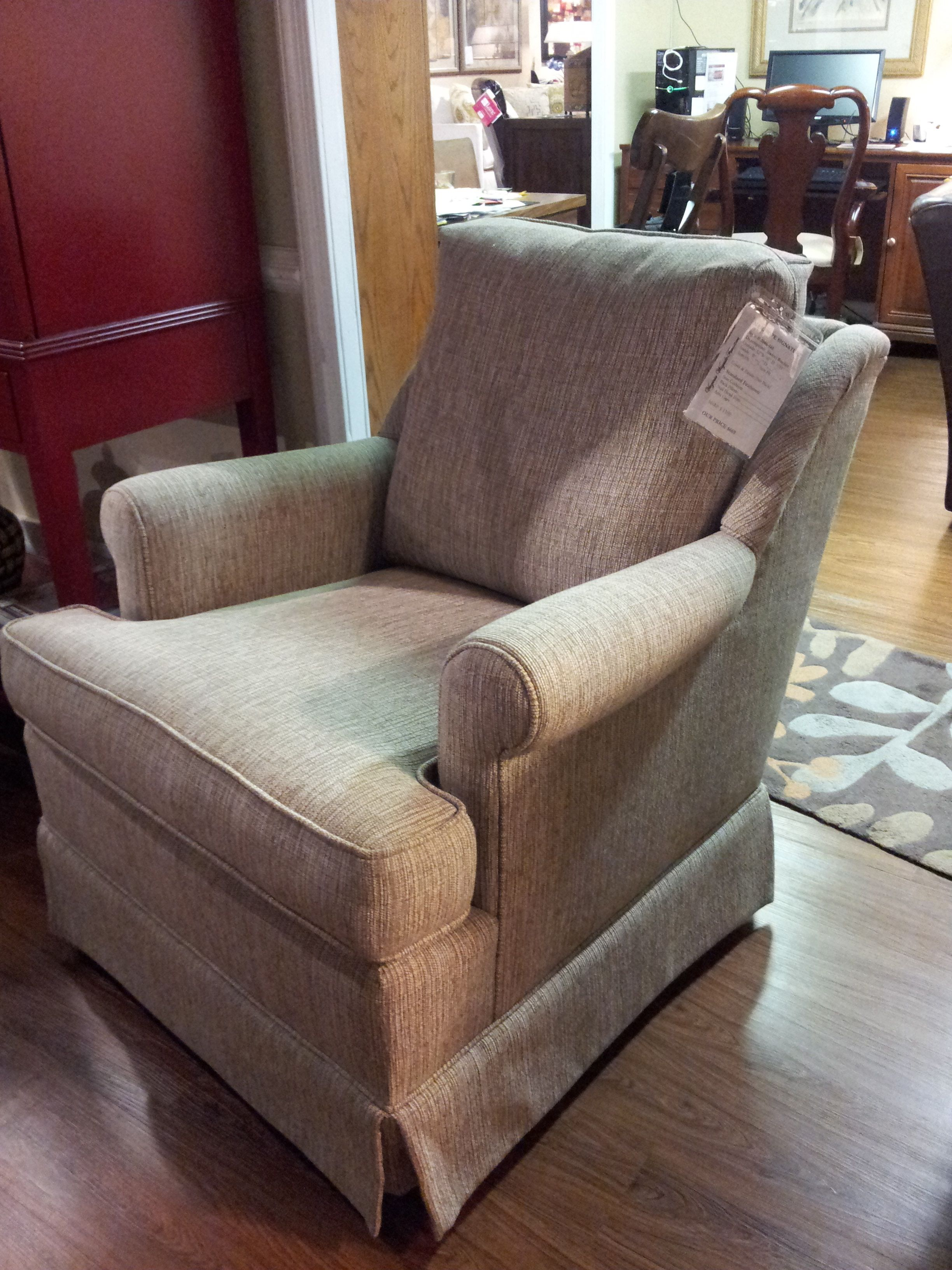 Elegant VA Wayside Furniture; Swivel Rocker Chair With Your Choice Of Fabric.  Popeu0027s Signature Gallery