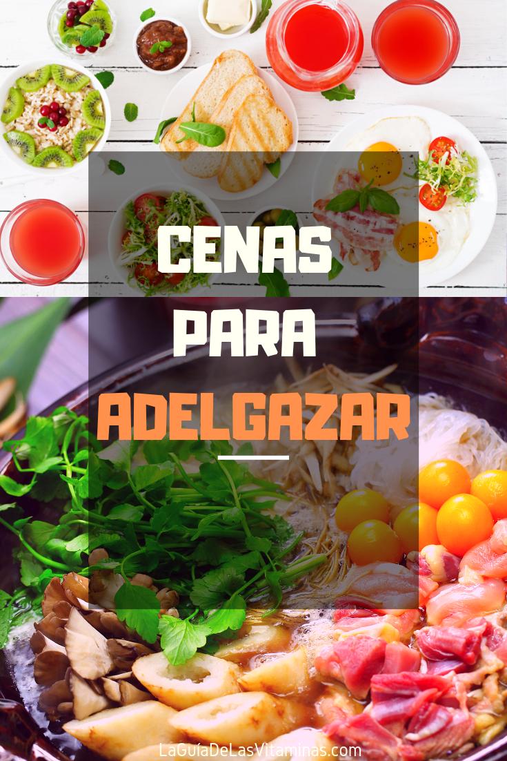 Cenas Para Adelgazar La Guia De Las Vitaminas Healthy Recipes Healthy Easy Healthy Recipes