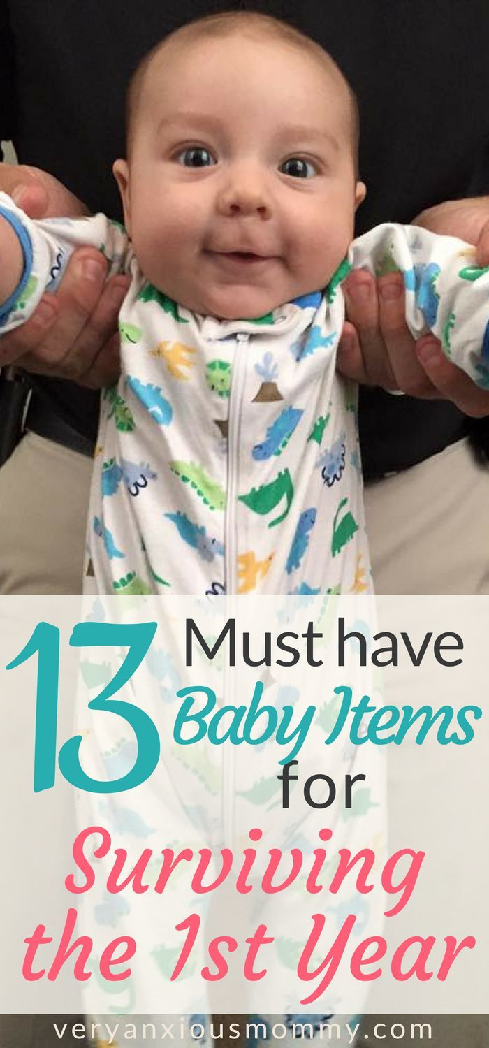 13 Essential Baby Items For Surviving The First Year Very Anxious Mommy New Baby Products Newborn Essentials Baby Items Must Have