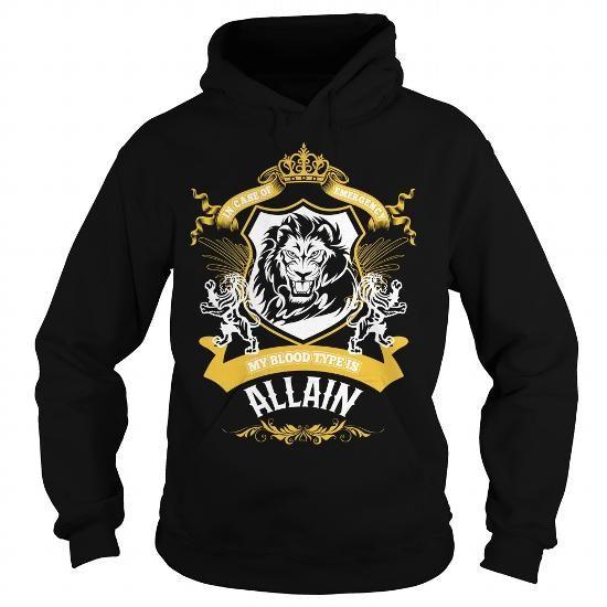 I Love ALLAIN,ALLAINYear, ALLAINBirthday, ALLAINHoodie, ALLAINName, ALLAINHoodies T shirts