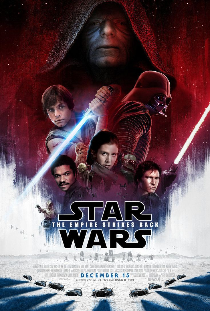 Empire strikes back - Last Jedi style. Really cool movie ...