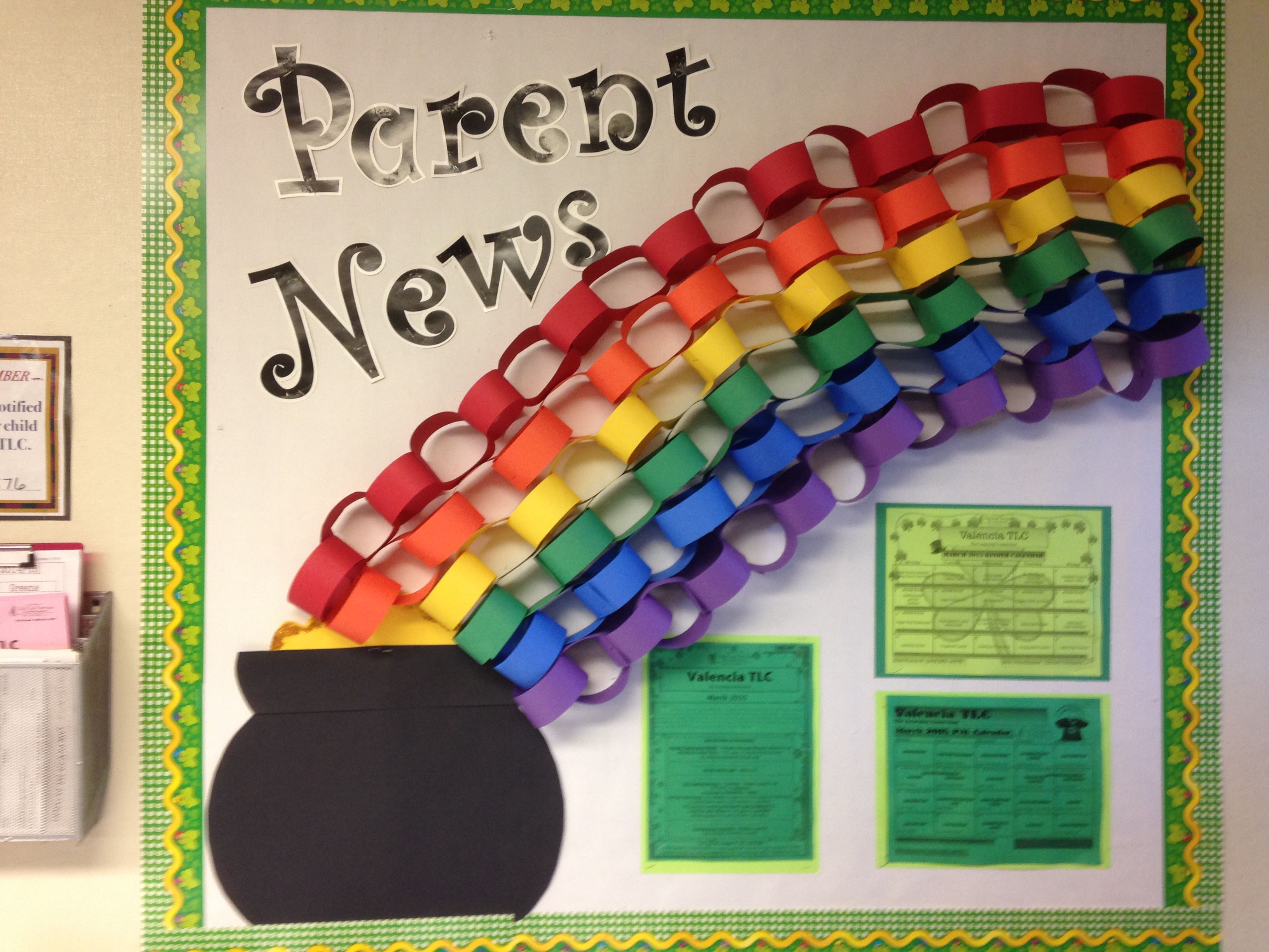 March Parent Board With Images