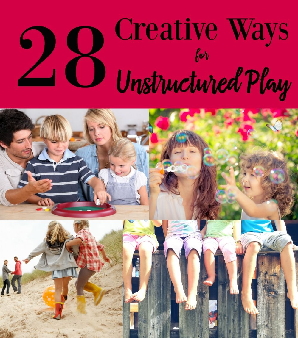 Unstructured Play Is Critical For Kids >> 28 Creative Ways For Unstructured Play Just For Kids Party Ideas