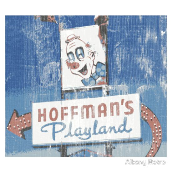 Cool Vintage Hoffman's Playland in Colonie, NY T-Shirt