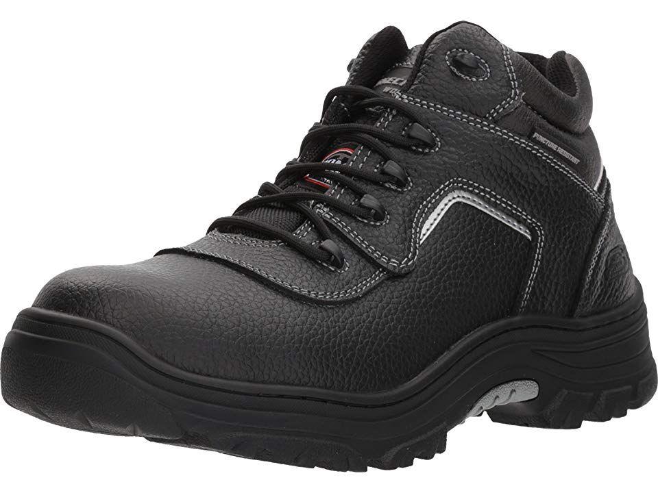 Skechers Work Burgin Sosder Men S Industrial Shoes Black