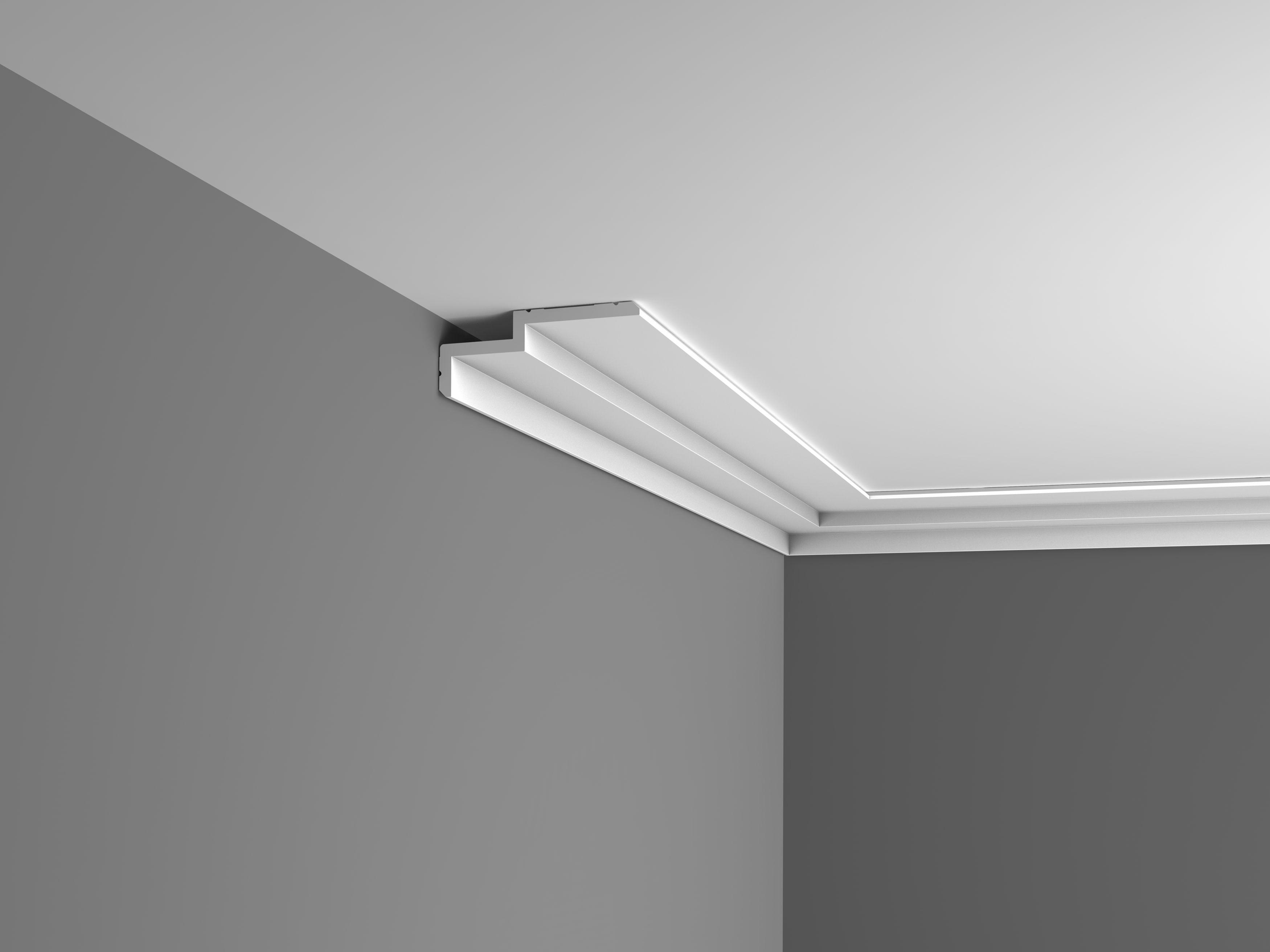 Goulotte Pour Plafond corniche plafond c391 luxxus orac decor éclairage collection