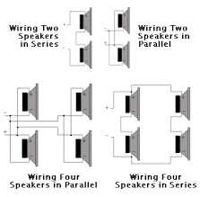 speaker parallel wiring」の画像検索結果 | Ohm | Pinterest | Speakers ...