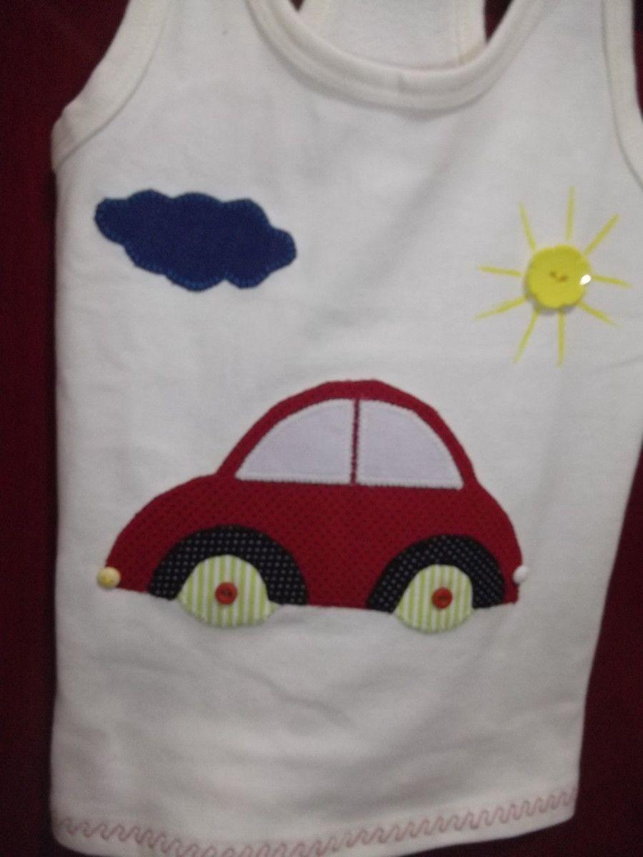 192ba77ad6 Camisetas em Patch Aplique Carro no Elo7