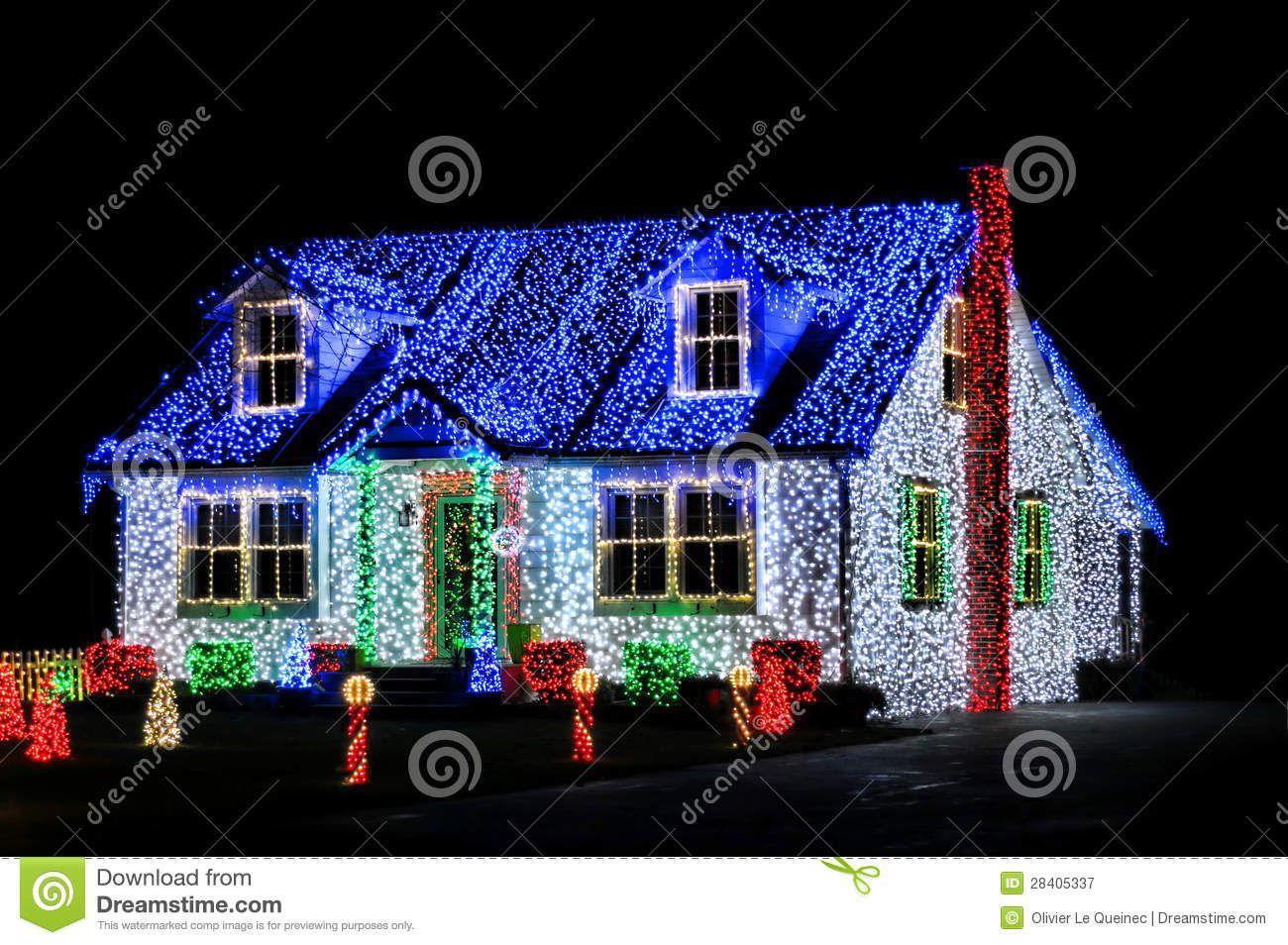 Christmas Lights Show Display House Night 28405337 Jpg 1300 954 New Christmas Lights Christmas House Lights Exterior Christmas Lights