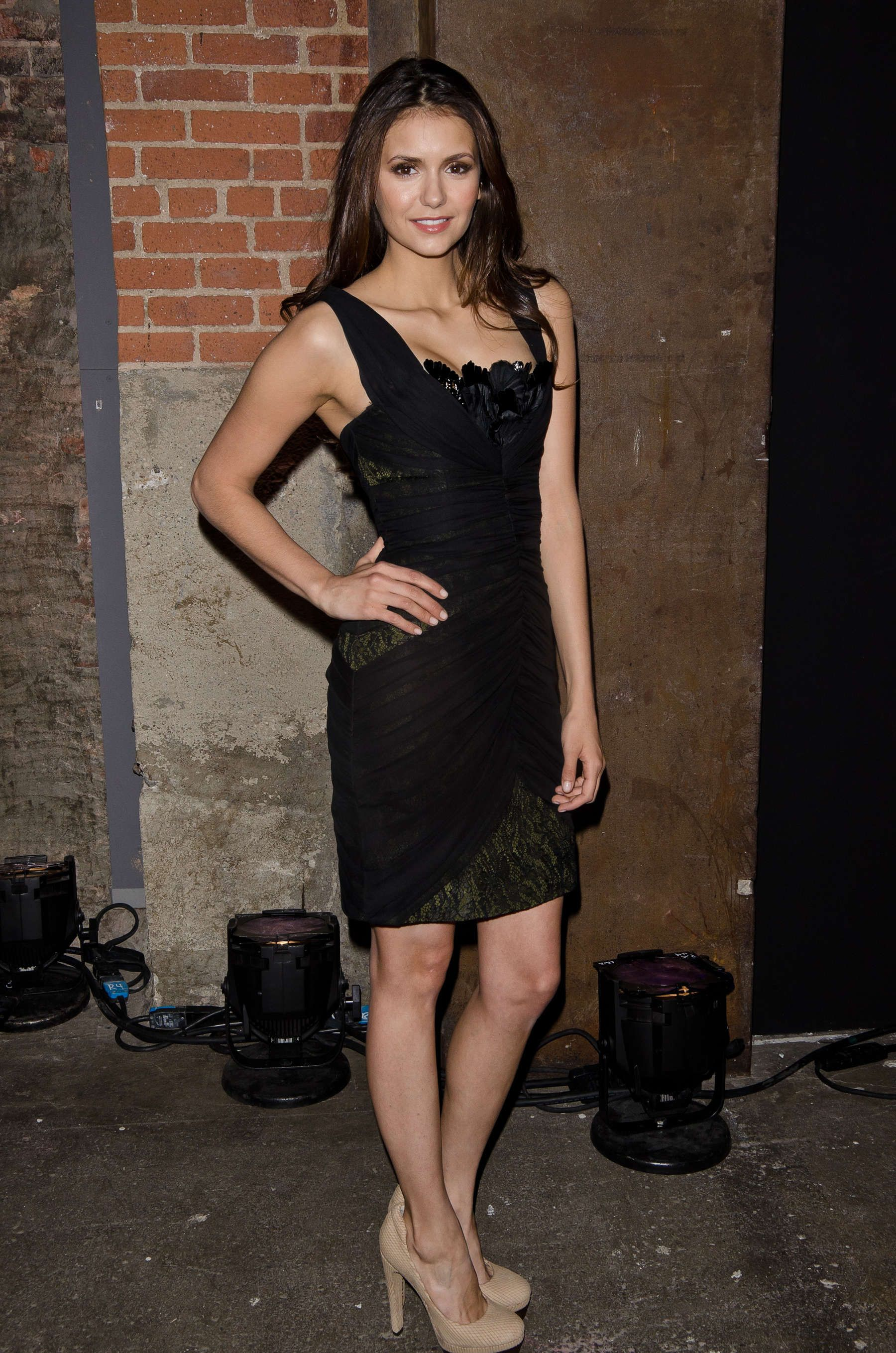 Pin By Vidyadhar On Zimages Nina Dobrev Tight Dresses