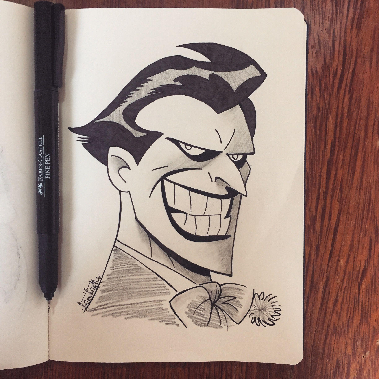 the joker 03 desenho a lápis 6b caneta 0 05 preta marcador