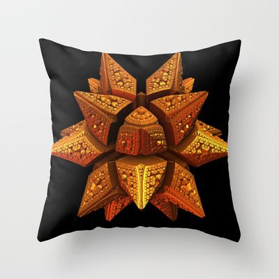 Star of Wonder Throw Pillow by Lyle Hatch - $20.00