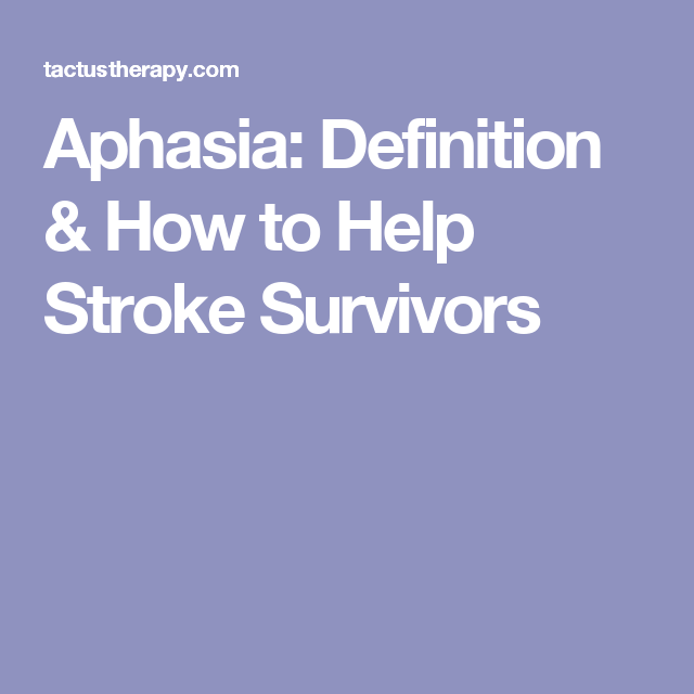aphasia: definition & how to help stroke survivors | speech, Skeleton
