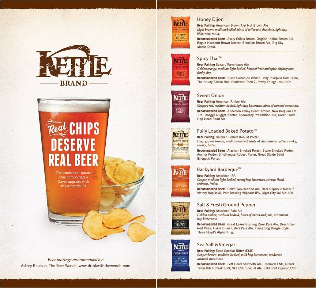 Deschutes Red Chair Kd Smart Reviews We Love This Kettle Chip Beer Pairing Guide