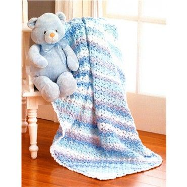 Free Lullaby Baby Blanket Pattern - Books & Patterns | Crochet ...