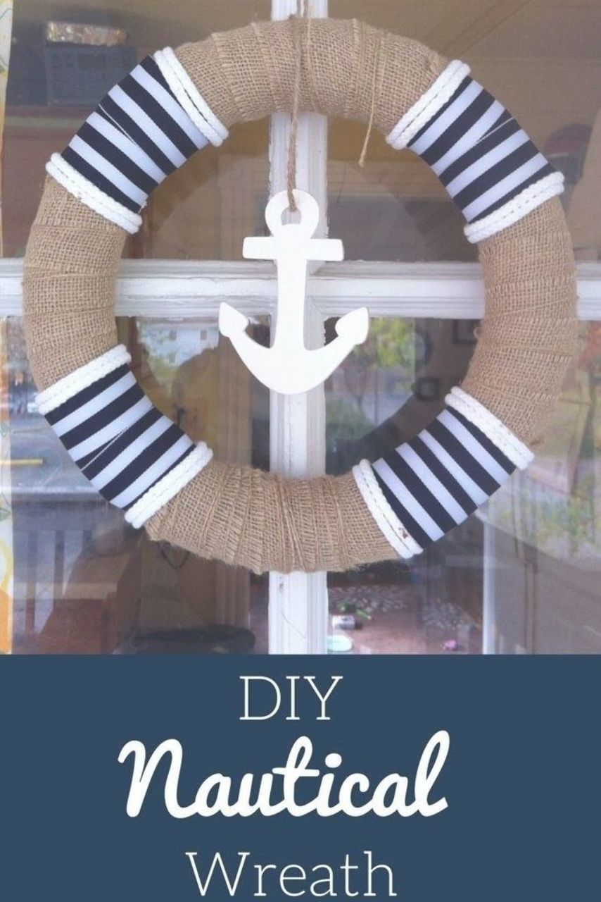 Awesome Diy Nautical Crafts 15 Best 25 Nautical Wreath Ideas On