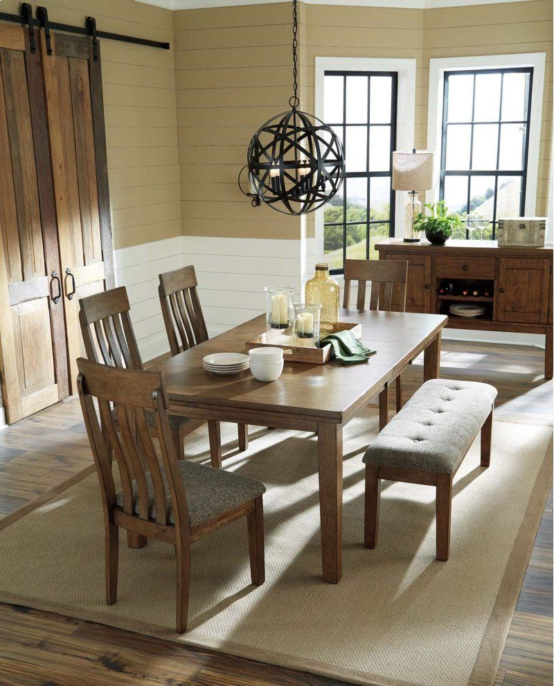 ralene dining table set on d59535 in by ashley furniture in walker mn flaybern dining room table dining table dimensions furniture ashley furniture pinterest