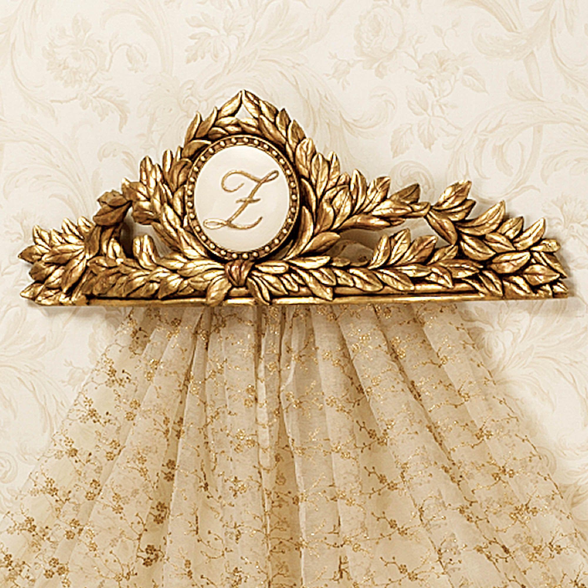 Monogram Wall Teester Bed Crown. Fucking DUH. | Pisces Picks ...