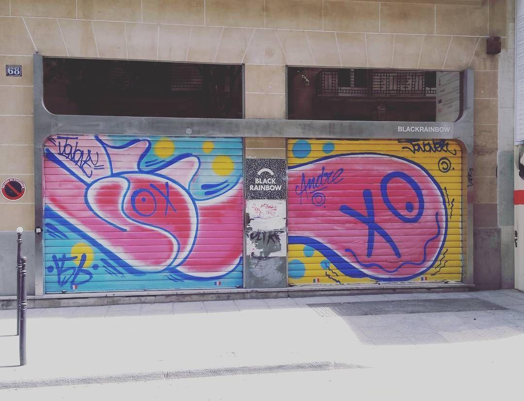 . @johnperello X @baronandre  #streetphotography #streetphotographer #igers #igersparis #igersoftheday #StreetArtParis #streetphoto #instagood #streetart #ParisJeTaime #parisweloveyou #Parismonamour #Paris #france #tourisme #jonone #André