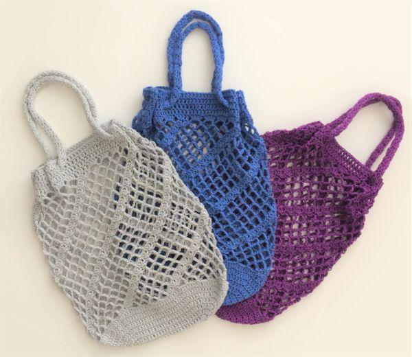 Jetzt Eine Wunderbare Einkaufstasche Ein Einkaufsnetz Häkeln In