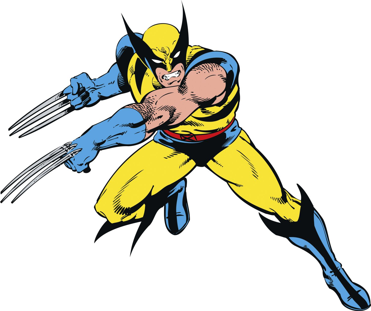 Bring Wolverine to life on your wall! This enormous wall decal ...