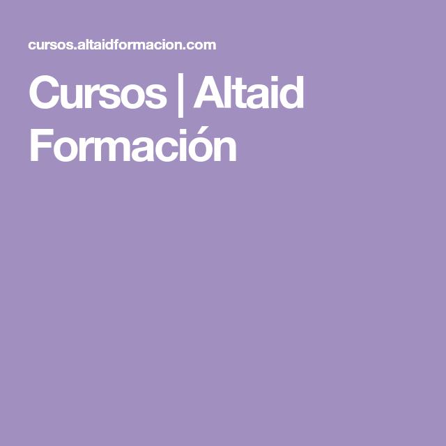 Cursos Altaid Formacion Gaming Logos Curriculum