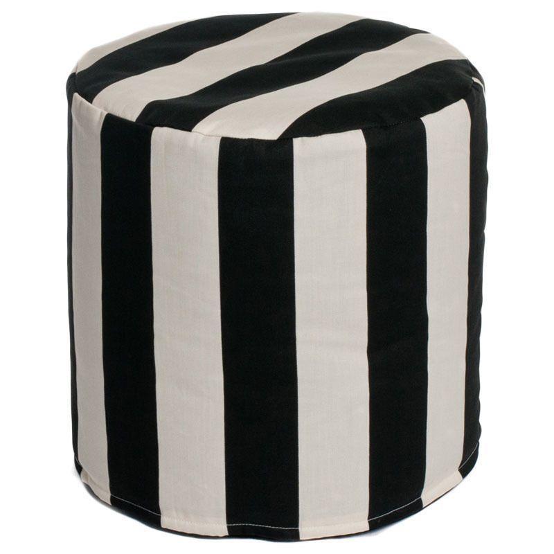 Pleasing Chateau Designs Cabana Outdoor Beanbag Cylinder Ottoman Inzonedesignstudio Interior Chair Design Inzonedesignstudiocom