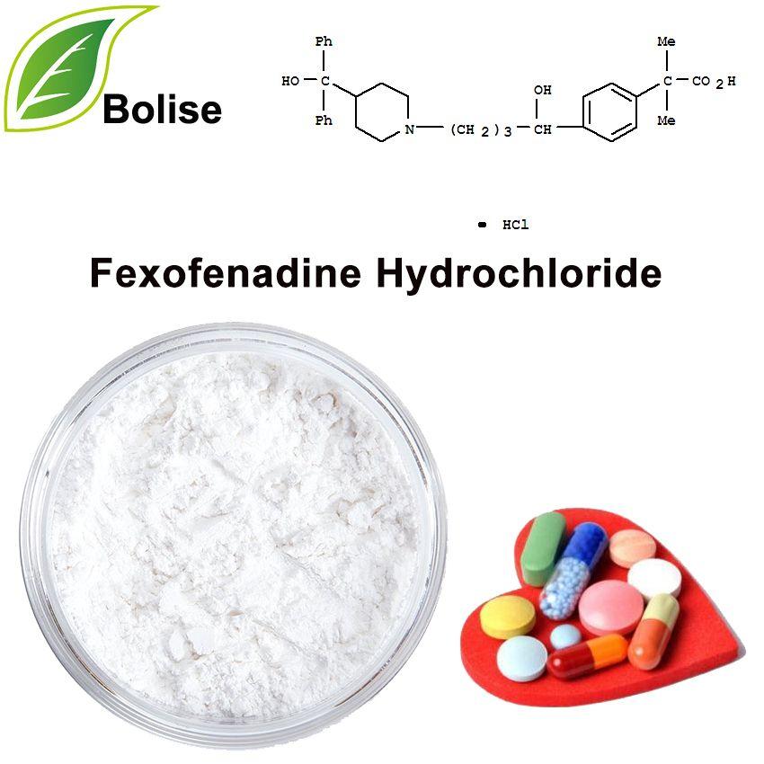 Fexofenadine Hydrochloride Molecular Cosmetic Companies Raw Materials