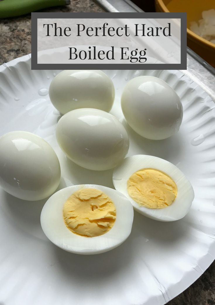 The Perfect Hard Boiled Egg - Saving You Dinero