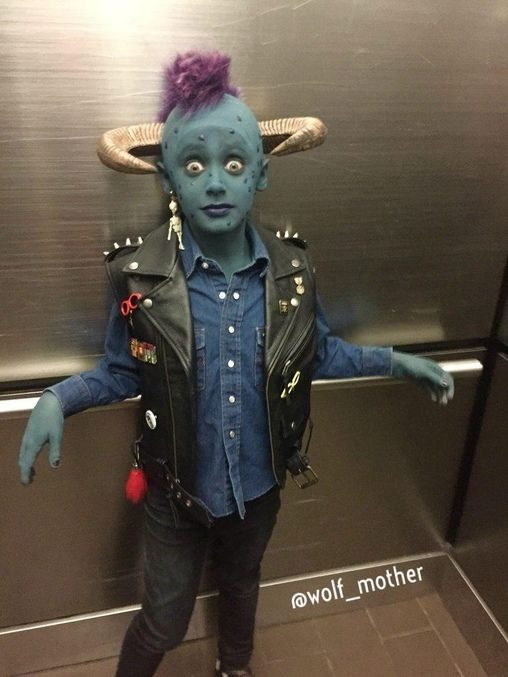 Maurice from Little Monsters - 2015 Halloween Costume Contest  sc 1 st  Pinterest & Maurice from Little Monsters - Halloween Costume Contest at Costume ...