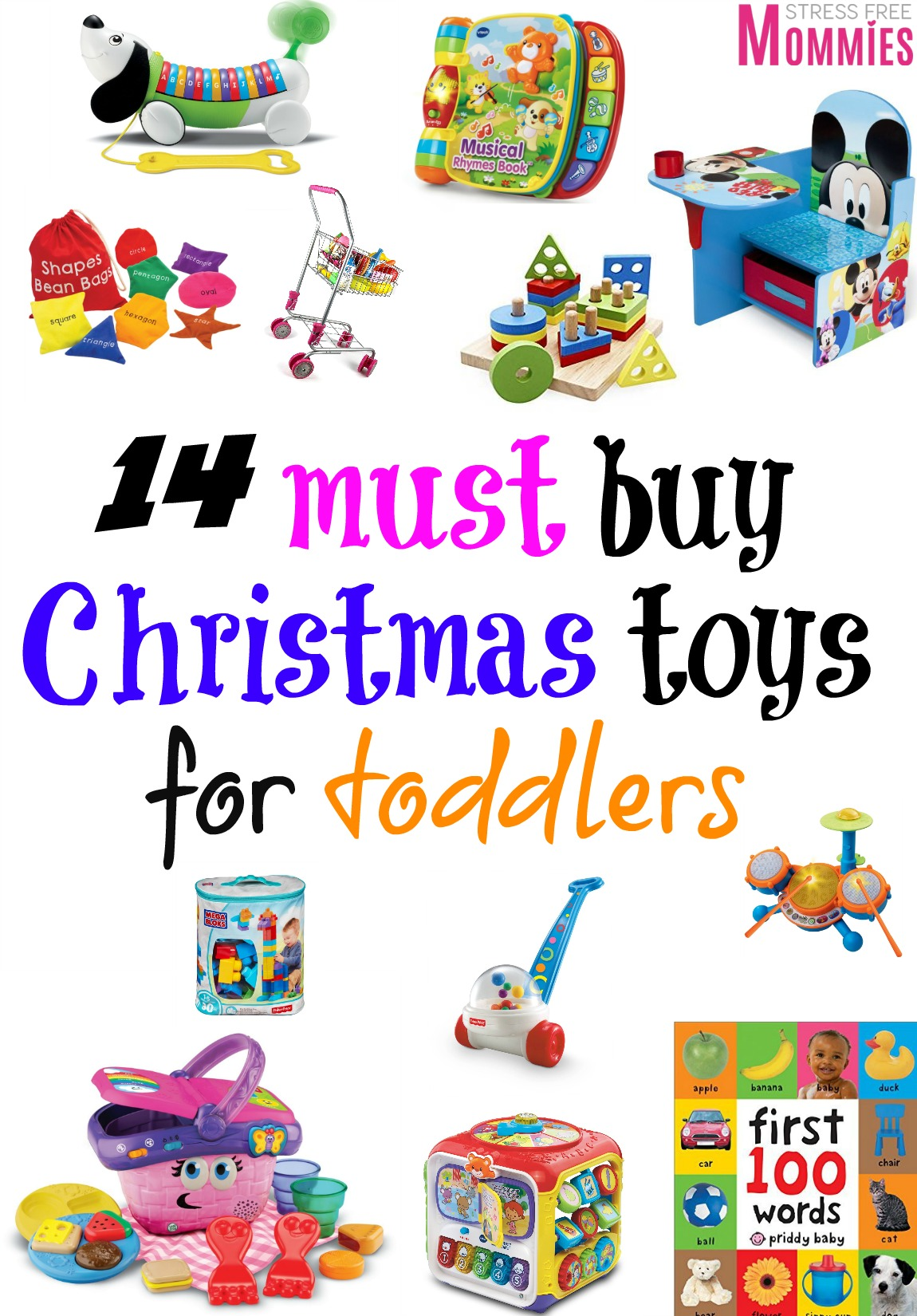 14 fun must buy christmas toys for toddlers stress free mommies - Christmas Toys For Toddlers