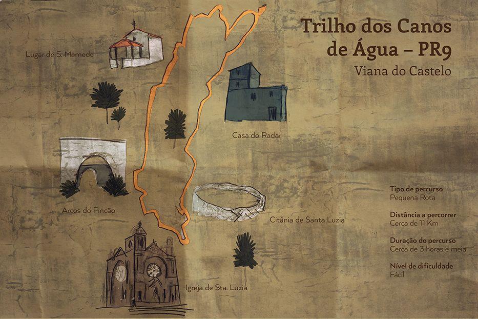 Depois de subirmos os 742 degraus do Escadório de Santa Luzia chegamos ao Santuário, onde se inicia o Trilho dos Canos de Água. Este trilho, com cerca de 11 km, percorre na sua maioria caminhos florestais e leva-nos a encontrar primeiramente os Arcos do Fincão. Estes arcos fazem parte de um antigo sistema de abastecimento de água, com mais de cinco séculos, que permitia a passagem da água a partir das várias minas encontradas no Monte de Santa Luzia até à cidade. As canalizações são…