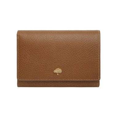 24e47702988 Mulberry - Tree French Purse in Oak Natural Leather | Mulberry ...