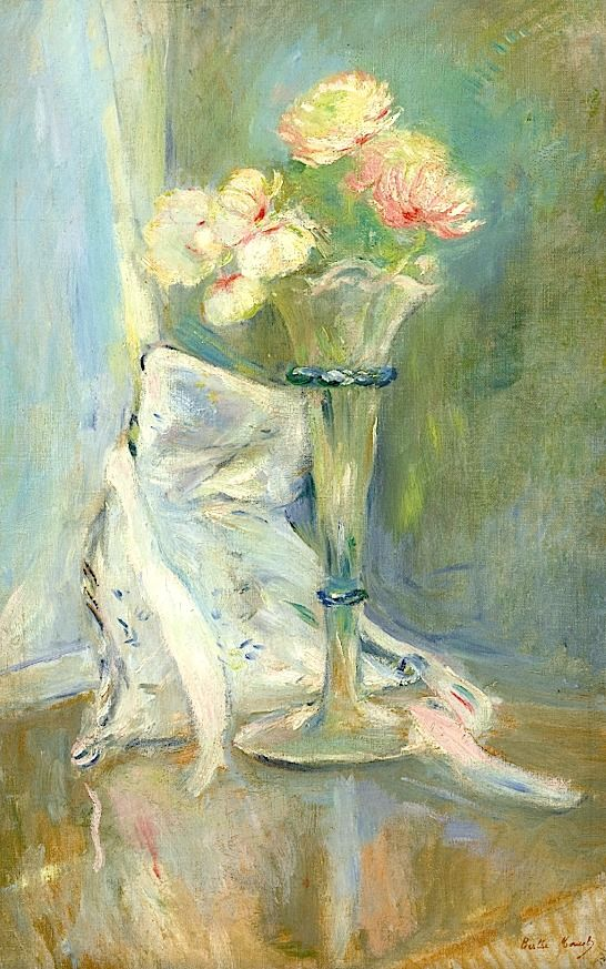 Berthe Morisot 18411895 Anémones Roses The Glory of