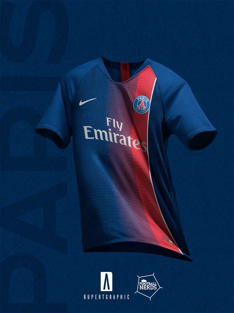372c2dafb 4 Unique Paris Saint-Germain 2019 Concept Kits By Rupertgraphic - Footy  Headlines