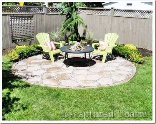 Fire Pit Patio With Images Fire Pit Backyard Fire Pit Patio