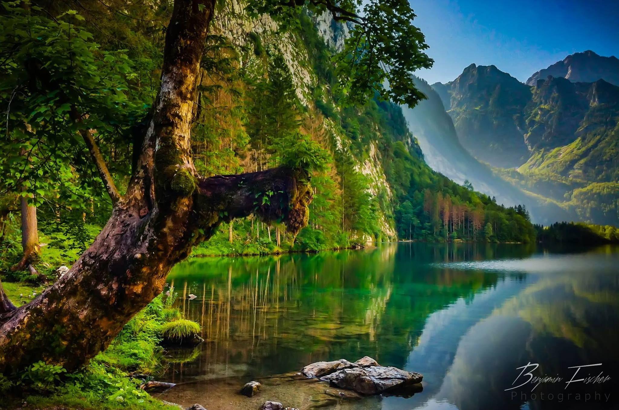 Fotografía: Benjamin Fischer Título: Konigssee (El Lago del Rey ...