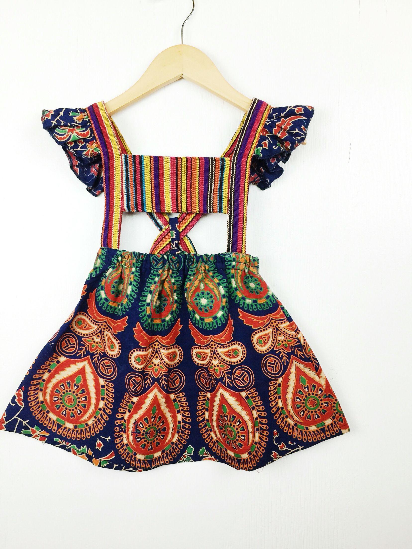 Littlemoonclothinggcartel Bohemian Baby Dress Toddler