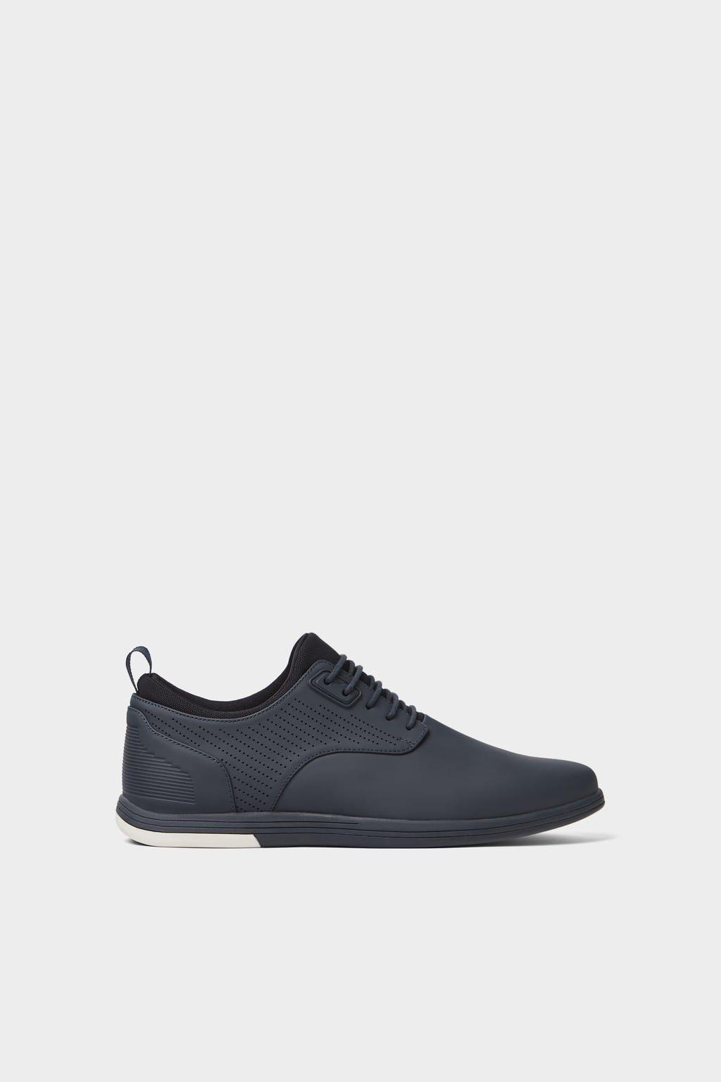 Matte Sneakers Sneakers Shoes Man Zara Turkey Sepatu Pria
