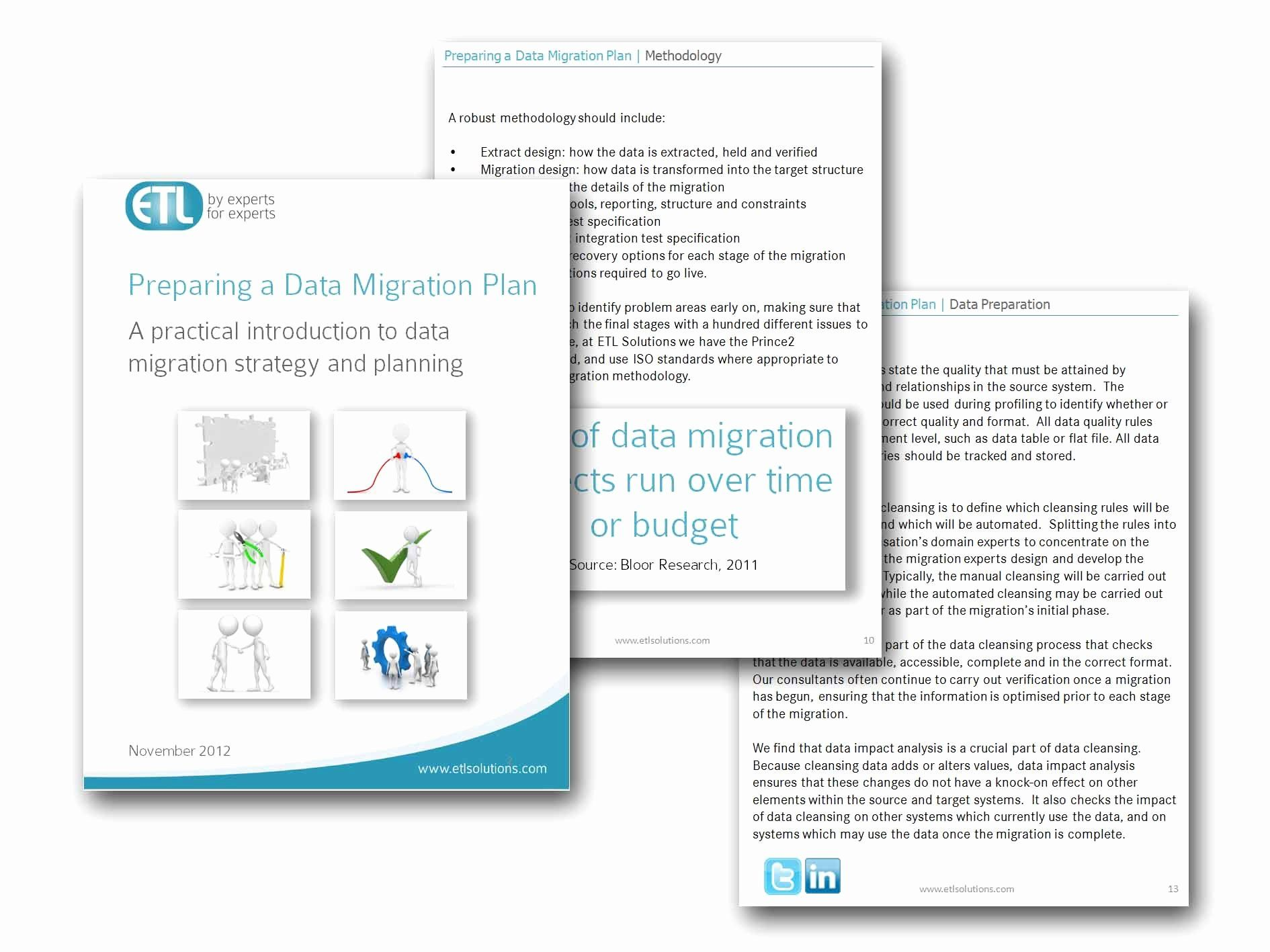 30 Data Migration Plan Template in 2020 (With images