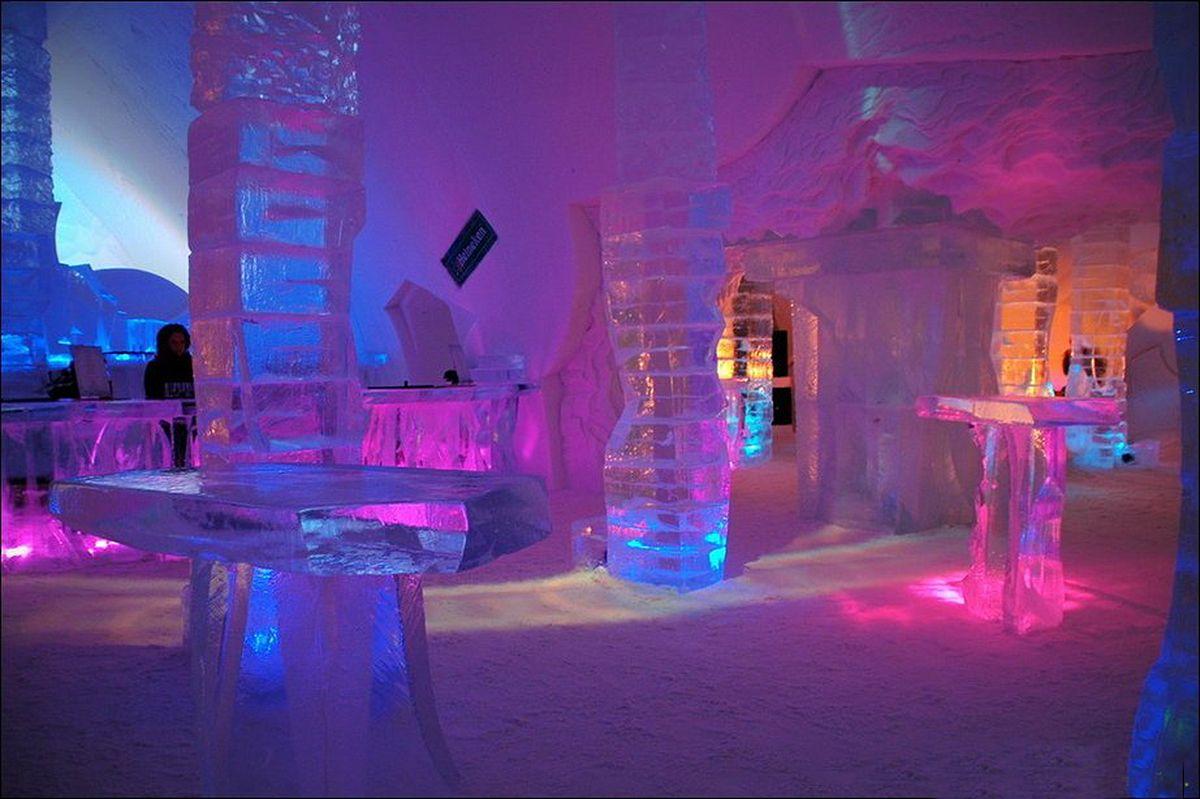 Hotel De Glace Quebec Canada Ice Hotel Pinterest