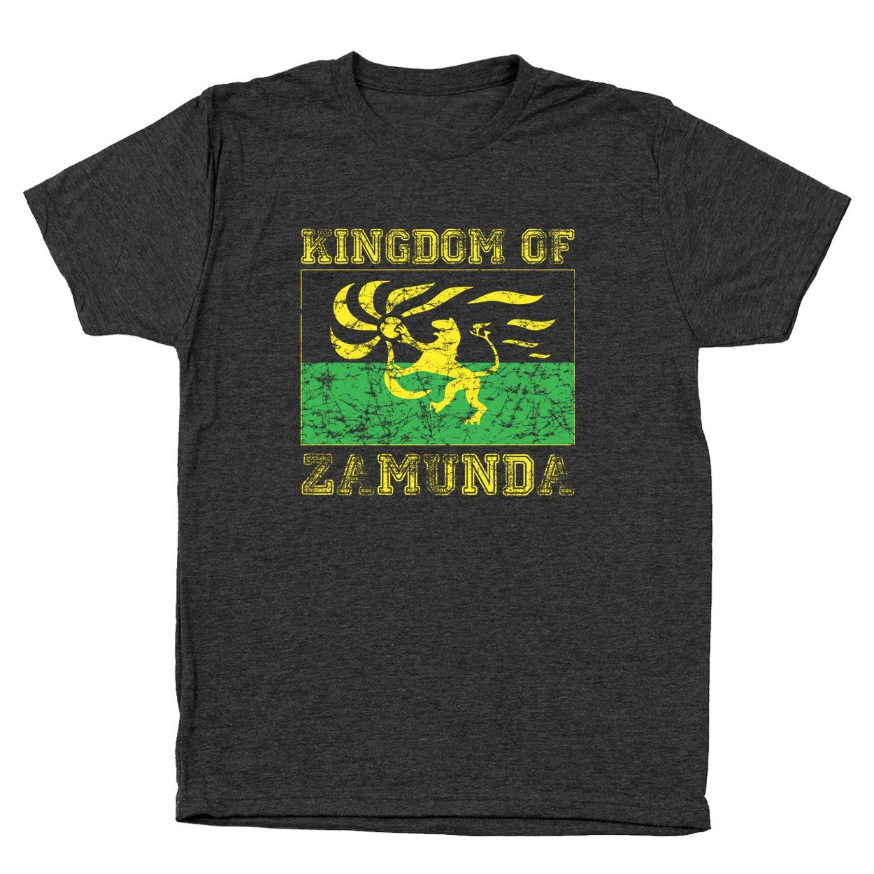 Kingdom Of Zamunda Men's Tri-Blend T-Shirt