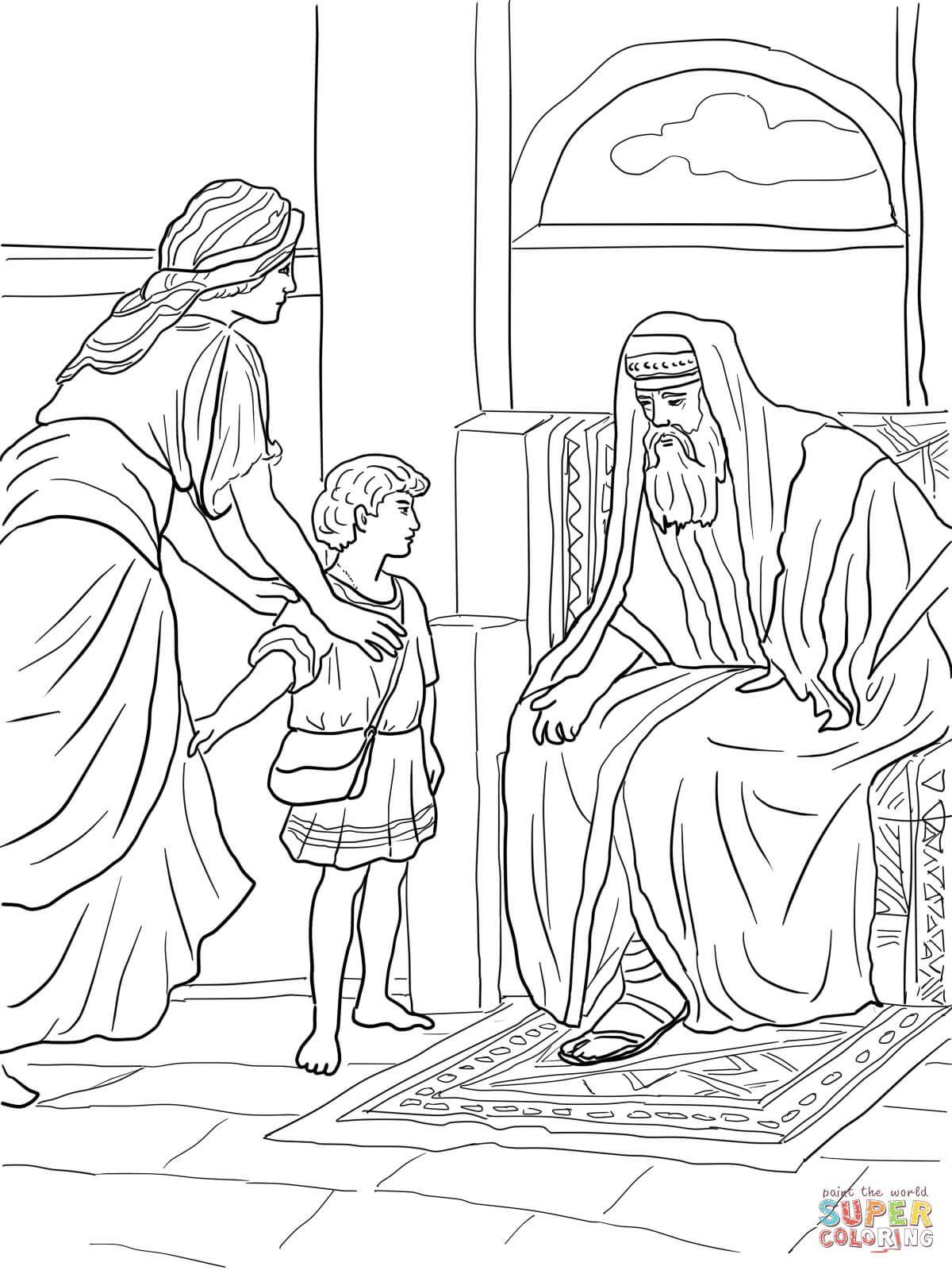 prophet samuel ausmalbilder #ausmalbilder #prophet #samuel