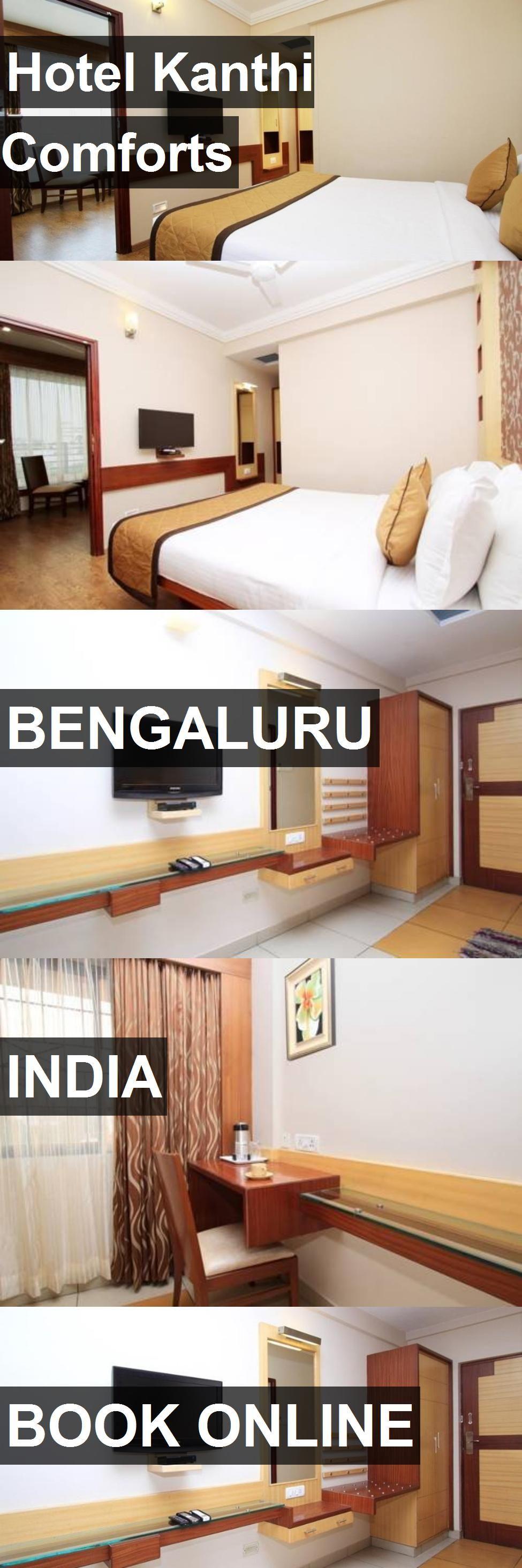 Hotel Kanthi Comforts in Bengaluru, India. For more
