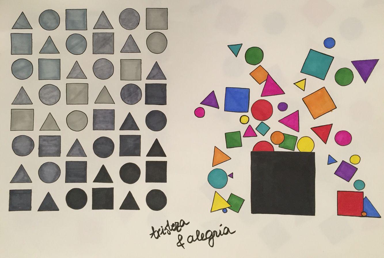 Composicion Triangulos Circulos Cuadrados Tristeza Y Alegria Disenos De Unas Composicion Triangulos