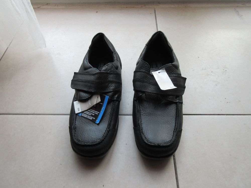 buy best wholesale outlet wide range Boys black school shoes, size 5 from Next | Available from Ebay ...