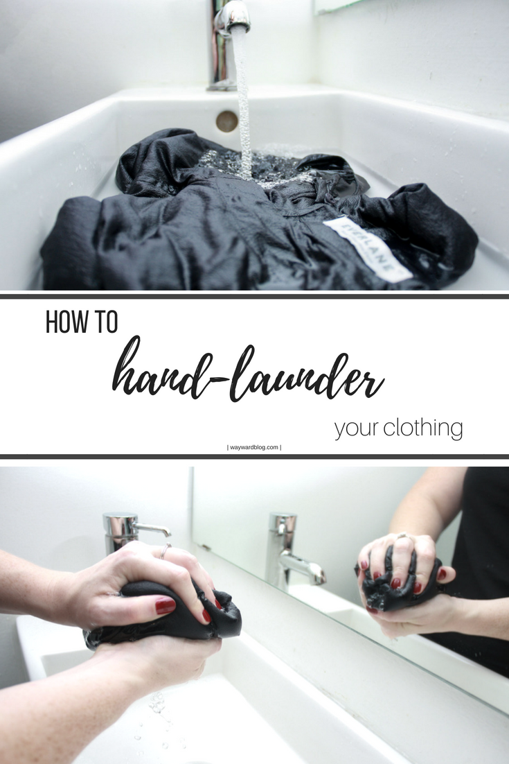 How To Hand Wash Your Clothes It S So Simple And So Much Gentler